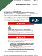 RAPTOR Sensor Module Replacement Procedure