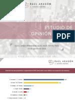 Raúl Aragón Asoc. Elecciones Presidenciales 2019. Total País