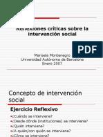 Intervención social 1