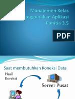 Manajemen kelas menggunakan aplikasi