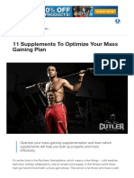 11 Supplements to Optimize Your Mass Gaining Plan _ Muscle & Strength