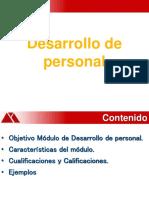 Curso Desarrollo de personal