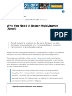 Why You Need a Better Multivitamin (Now!) _ Muscle & Strength