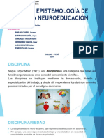 Epistemologia de La Neuroeducaccion