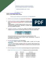 Información Sobre Inscripción LAR-1-2019