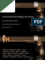 Presentación - Historia de La Estética