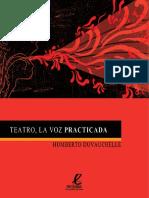 Teatro, la voz practicada- Humberto Duvauchelle