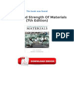 Review (PDF) Statics and Strength of Materials 7th Edition