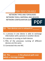 Chapter Test Css g12