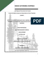 EFECTO DE ACEITES ESENCIALES  EN EL CONTROL DE  Fusarium sp CAUSANTE DE LA PUDRICION VASCULAR DE FOLIOLOS DE PALMA ACEITERA.
