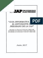 Guia Informativa Para El Estudiante de Pregrado de La Uap