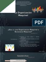 Organización Maquinal