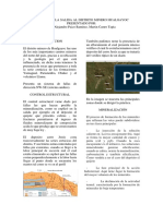 Informe de La Salida Al Distrito Minero Hualgayoc