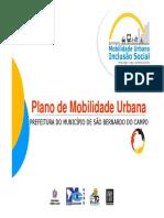 Plano de Mobilidade Urbana - São Bernardo do Campo
