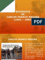Biografia Carlos Franco Medina