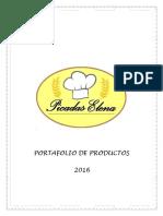 Portafolio de Productos Elena 2016