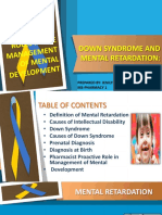 Down Syndrome and Mental Retardation