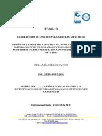 It-031-13 Slurry Seal Manual La-3, Mesa de Los Santos Ing German Ulloa
