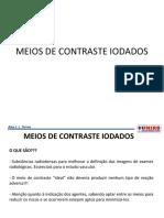 Aula 6 - Meios de Contraste Iodados Unirb (1)