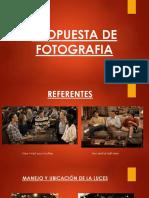 propuesta de fotografia serie web