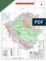 Mapa de la provincia de Canchis