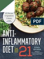 Anti-Inflammatory Diet in 21 - Rockridge Press