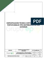 ANEXO2 2520 2016-12-13 ET2 Cortacircuitos Portafusibles