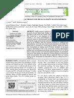 Knee Orthoarthritis Varmam 42 Vol. 8-12-12 17 IJPSR