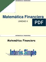 Matematicas Financieras Interes Simple y Compuesto