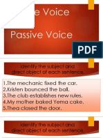 Active&PassiveVoices