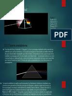 Presentación de la naturaleza de la luz