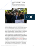 No caricatures- the new far right party in Brazil | rs21 - Miguel Borba de Sá