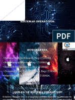 Presentación acerca de sistemas operativos
