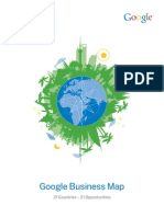 Google Business Map- 21  Business Opportunities in 21 Countries