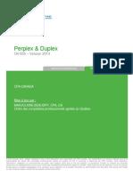 Perplex & Duplex (O4-005) - Notes