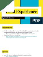 week 4a field experience