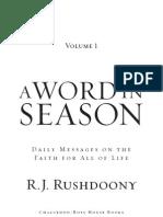 Word in Season Sample