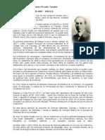 Biografía Dr.clodomiro Picado T.