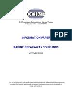 Marine Breakaway Couplings Information Paper