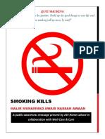 Smoking Kills by Wali Care & Cure
