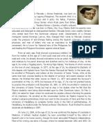 Rizal Biography