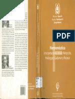 HERMENEUTICA Interpretaciones desde Nietzche, Heidegger, Gadamer y Ricoeur.pdf