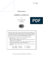 IHSM CEH Isopropyl Alcohol Sample Report 2009