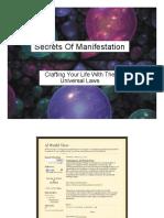The Secrets Of Manifestation.pdf