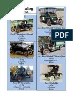 Catálogo Carros USA 1919