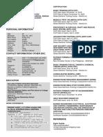 My Resume Quimora a.s.