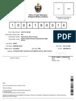 Applicant Permit