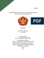 Referat Infeksi Jamur Tahun 2013 - 2019