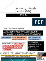 Tema 11. Fujimorismo y Crisis de Partidos (90s)2