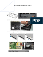 PAsos basicos para desarmar una portatil(laptop)